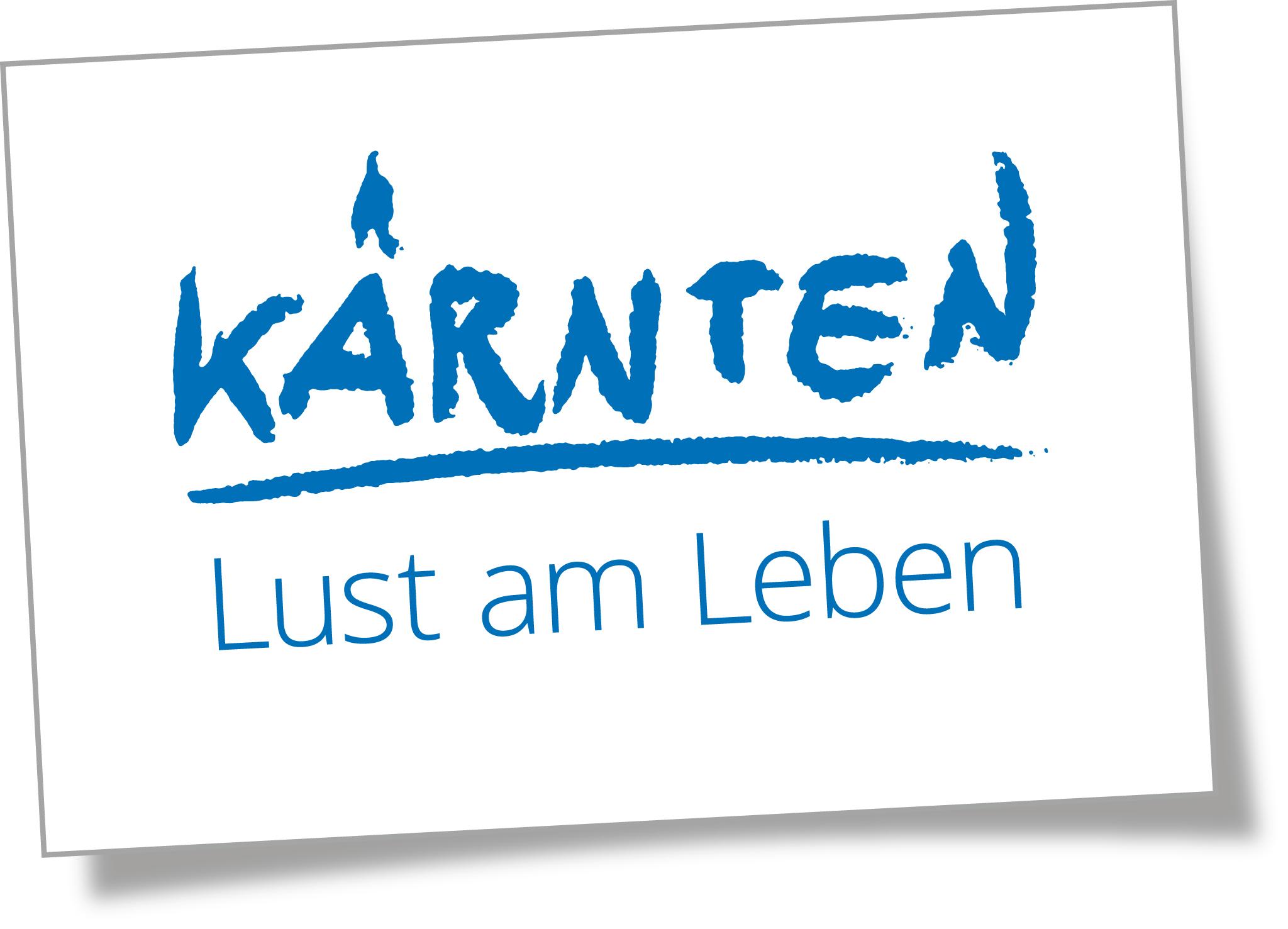 Logo Kärnten - LUST am Leben