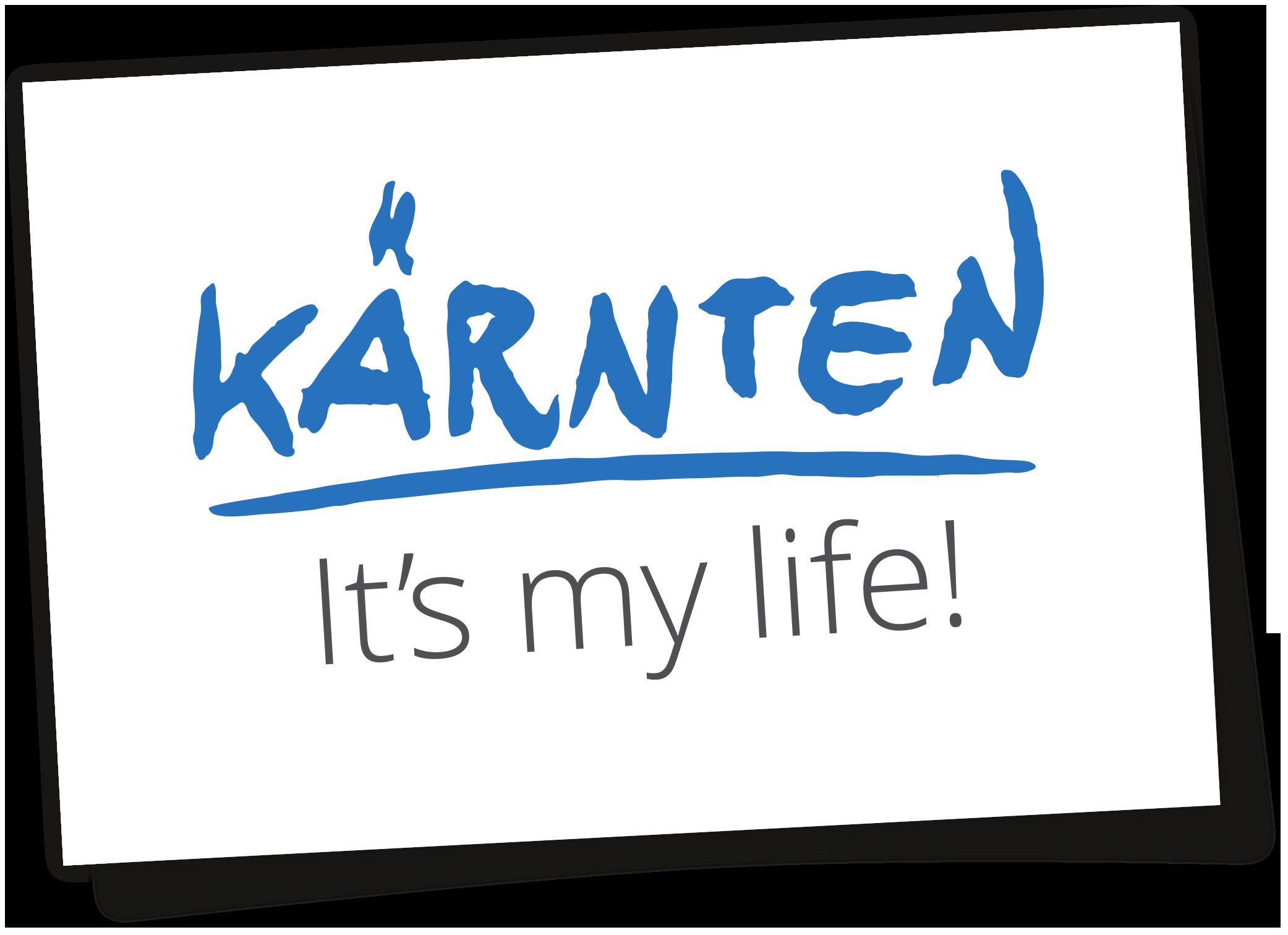 Logo Kärnten - It's my life!